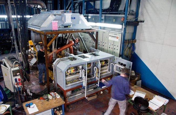 Diesel Generator Test Bench